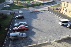 Dymek Motel Dębica - parking